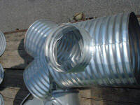 Corrugated Metal Pipe Accessories