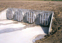Water Control Flap Gates
